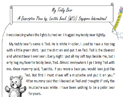 Writing Foundation 2: Descriptive Writing